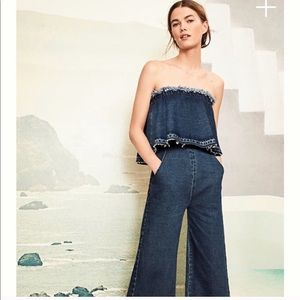 3a88e8b01a85 Anthropologie Pants - Anthropologie Hei Hei denim jumpsuit